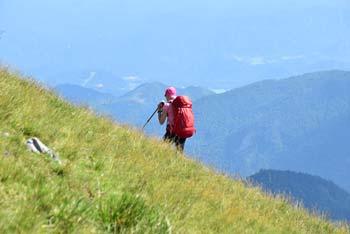Golica je izreden razgled s katerega se vidi Triglav, Kepa in južno Stol in Vrtača.