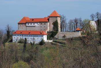 Grad Podsreda se nahaja na razglednem pomolu Orlice visoko nad dolino Bistrice.