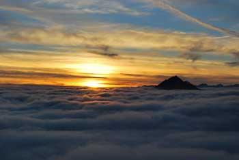 Grintovec je najvišji vrh Kamniško-Savinjskih Alp.