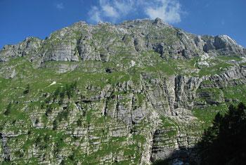 Iz Zadnjice je ena lepših poti do Koče na Doliču pod Kanjavcem.