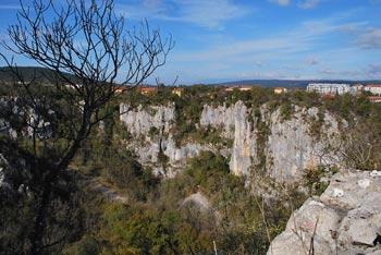 Koliševka Risnik se nahaja na poti do Divaške jame.