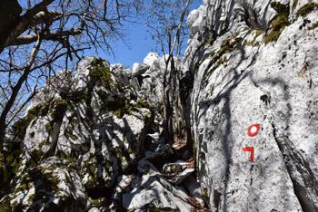 Na Medvižici nas preseneti skalnat in razgleden vrh, ki od nas terja nekaj plezalnih spretnosti.