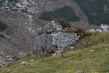 Planina Govnjač se nahaja na južne robu Spodnje Komne. Na njej še vedno stojijo številni ostanki nekdanje avstro-orgrske kasarne.
