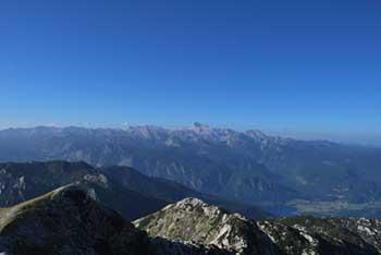 Rodica je eden višjih vrhov Spodnjih Bohinjskih gor s katerega se ob lepem vremenu vidi Triglav in Kanjavec.