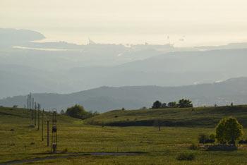 Slavnik je eden najvišjih vrhov v Čičariji, a sta Ostrič in Medvižica višja.