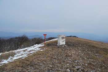 Vremščica je eden bolj pribljubljenih vrhov na Primorskem.