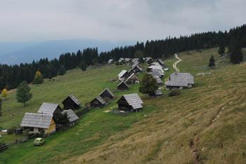 Zajamniki so ohranili svojo avtentično podobo alpske planine.
