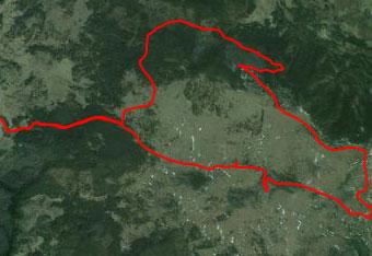 Na Belih ovcah se nahajamo sredi divjine, zato za orientacijo uporabimo gps track.