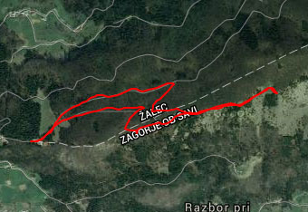 Na Čemšeniško planino načeloma ne bomo potrebovali gps navigacije.