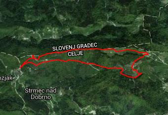 Čez Paški Kozjak vodi krožna pot za katero vzameno s sabo gps navigacijo.