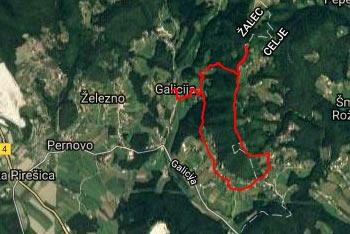 Pot na Šentjungert je dobro označena, več orientacijske spretnosti pa potrebujemo med krožnim povratkom.