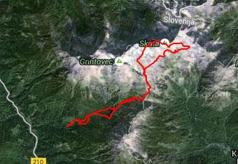 GPS navigacijo do Triglava uporabimo za primer, če nas ujame tema.