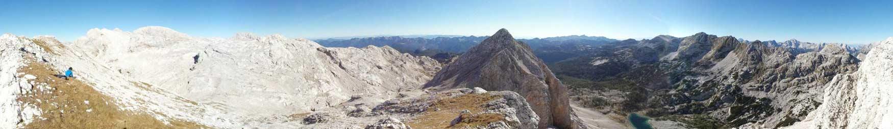 Panoramski posnetki iz cele Slovenije zbrani na enem mestu.