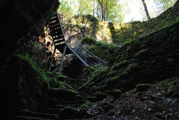 Divaška jama je znana tudi po tem, da jo je obiskal psihoanalitik Freud.
