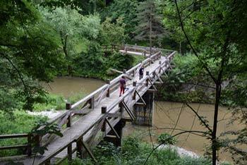 Obisk kanjona Kokre lahko izkoristimo tudi za obisk starega mestnega središča Kranja.