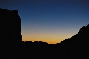 Ojstrica se dviga nad Korošica in stoji vzhodno od Planjave.