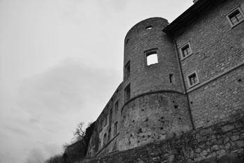 Štanjel se ponaša s starim dvorcem, ki je bil del mestnega obzidja.