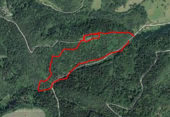 Do grada Vodriža nas pripelje kratka a strma pot, ki ne terja gps navigacije.