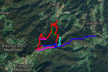Na Jeterbenk vodi planinska pot, ki je dobro markirana, nanj pa se lahko povzpnemo iz treh smeri. Najhitrejša je grebenska pot.