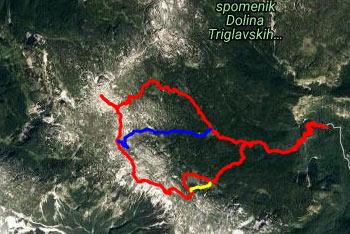 Lanževica se nahaja na zahodnem robu Lepe Komne poleg Vrha nad Gracijo. Krožna pot nas vodi preko Bogatinskega sedla nazaj proti izhodišču v Ukancu.