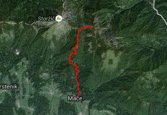 Na Mali Grintovec vzamemo s sabo gps navigacijo, za primer, če nas ujame tema.