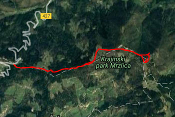 Na Mrzlico vodi dobro nadelana pot, ki jih zlahka sledimo, do planinskega doma pa se lahko zapeljemo tudi z avtom.