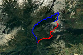 IKrožna pot preko planine Dol in Konja naredi kratek ovinek do Rzenika.