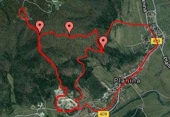 Do svete Marije na Planinski gori priporočamo uporabo GPS sledi.
