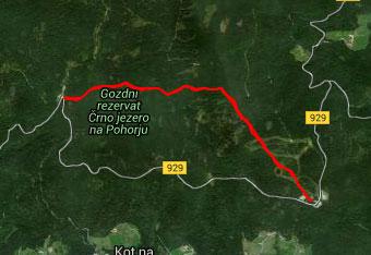 GPS sled do smučišča Trije kralji