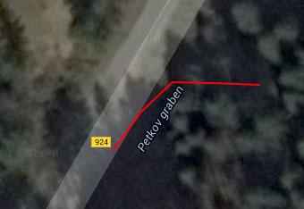 Do Žagerskega mlina nas skoraj dobersedno pripelje cestna navigacija.