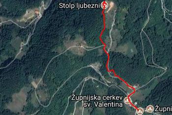S Stolpa ljubezni na Žusmu se odpre razgled na Sotelsko gričevje, pogorje Boča in Donačke gore, Pohorja in Ojstrice v Kamniško-Savinjskih Alpah.